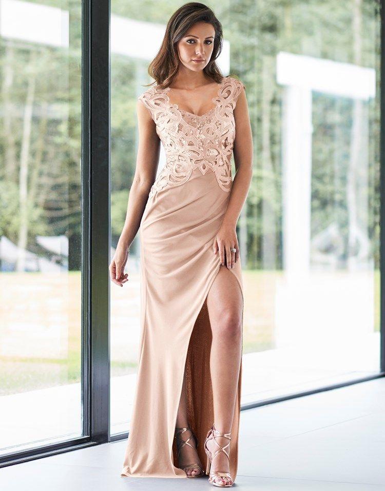 688d601a69c4 Lipsy Love Michelle Keegan Sequin Artwork Maxi Dress