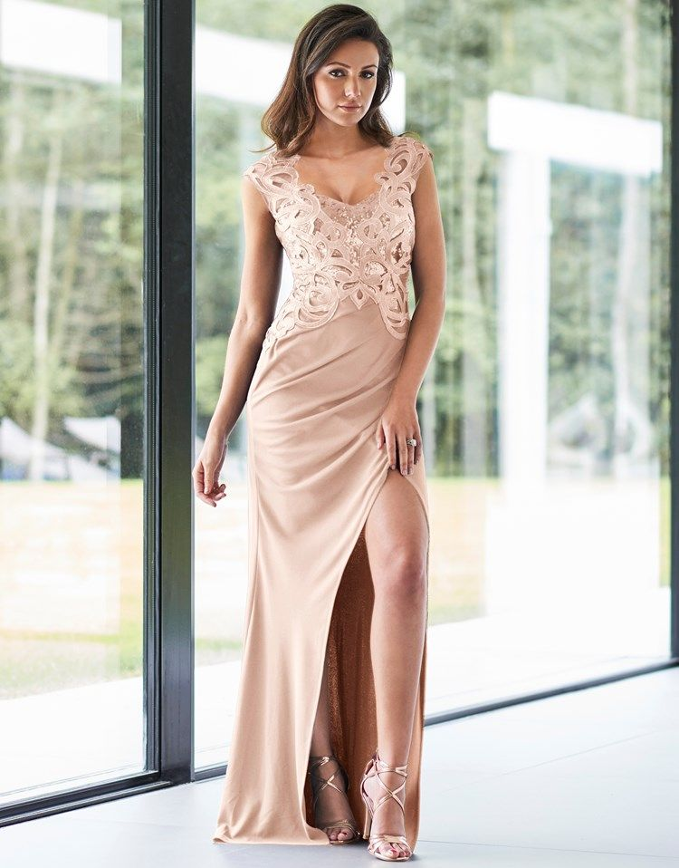 5e35542b101 Lipsy Love Michelle Keegan Sequin Artwork Maxi Dress