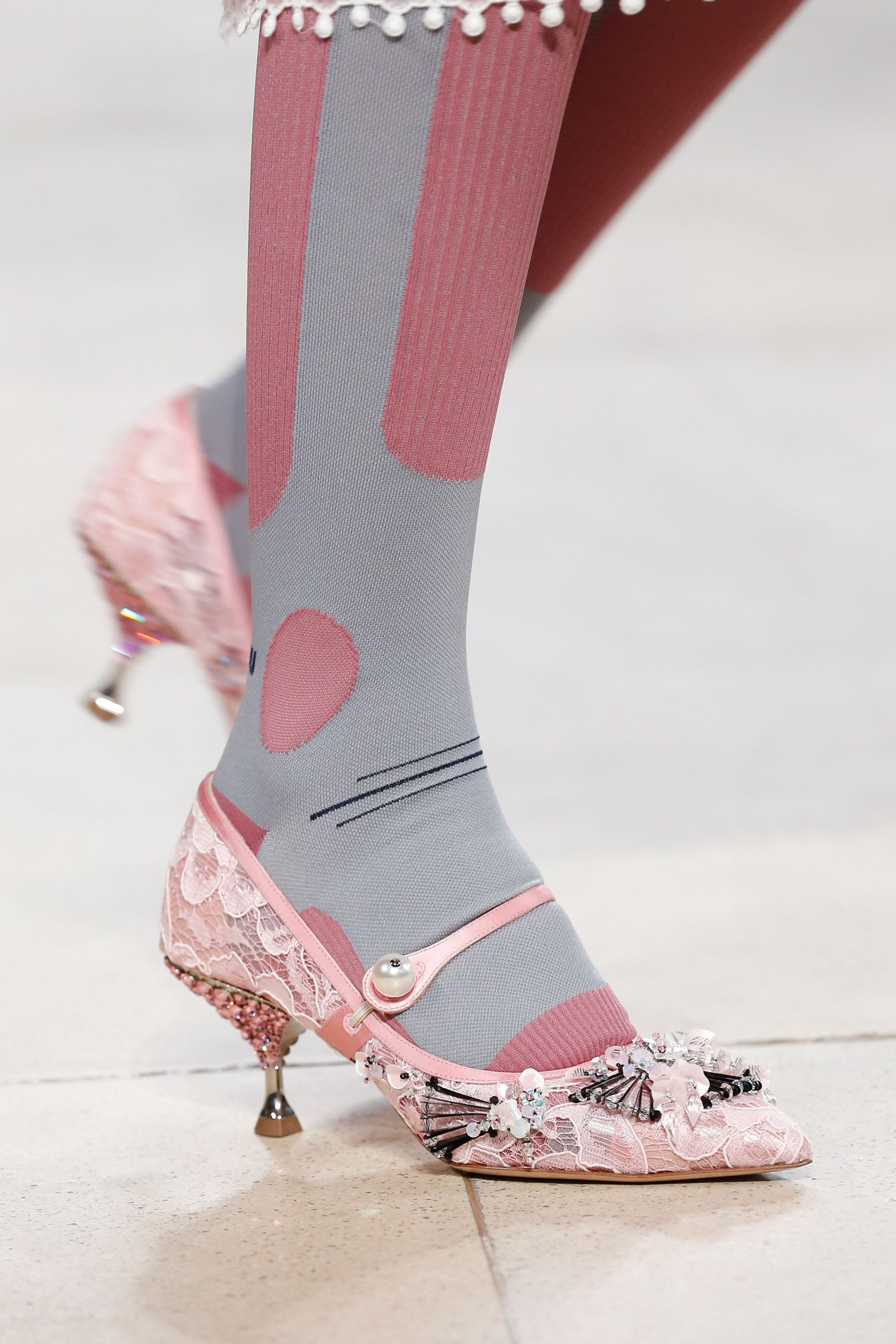 3ae3bf61cd6 ... Miu by Branded Womens Fashion Catwalk. Vogue s Ultimate Shoe Trend  Guide Spring Summer 2018