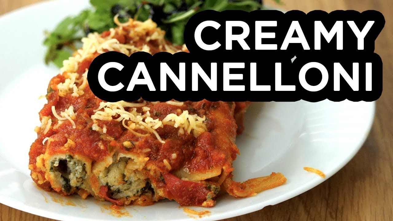 Creamy cannelloni bosh vegan recipe youtube not paleo but meals creamy cannelloni bosh vegan recipe youtube healthy forumfinder Images