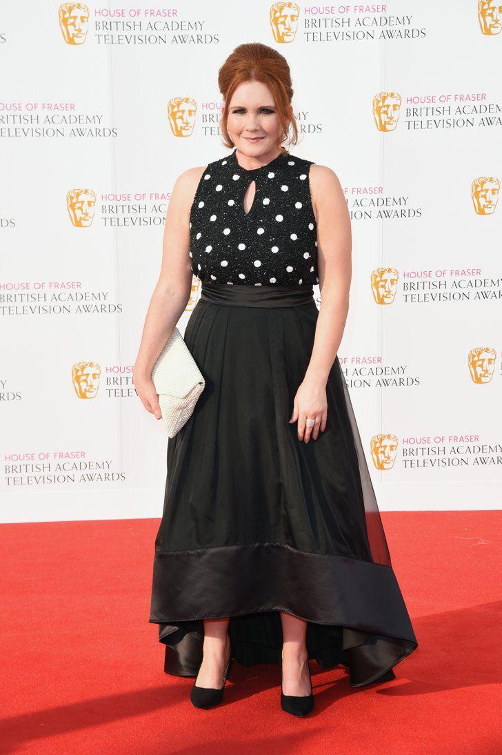 Pin for Later: Stars Celebrate in the Sunshine at the TV BAFTA Awards Jennie McAlpine