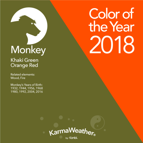 Monkey 2018 Chinese Horoscope Year Of The Monkey S 2018 Predictions Year Of The Monkey Lucky Colour Numerology Life Path