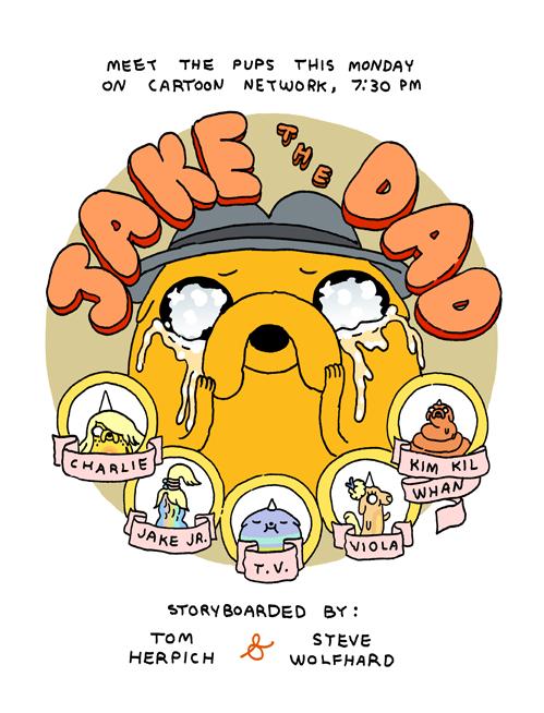 Jake The Dad Promo Art Adventure Time Adventure Time