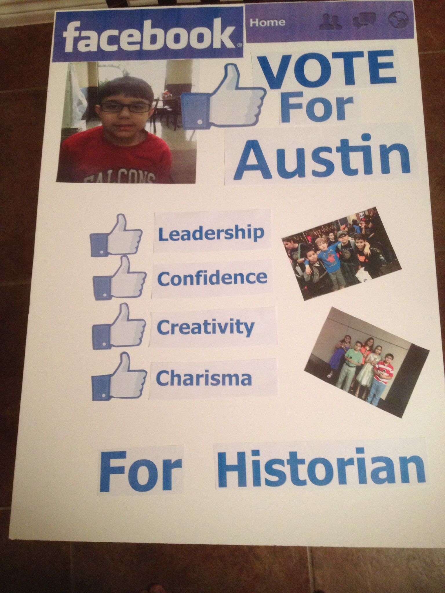 Poster student council Student council campaign posters