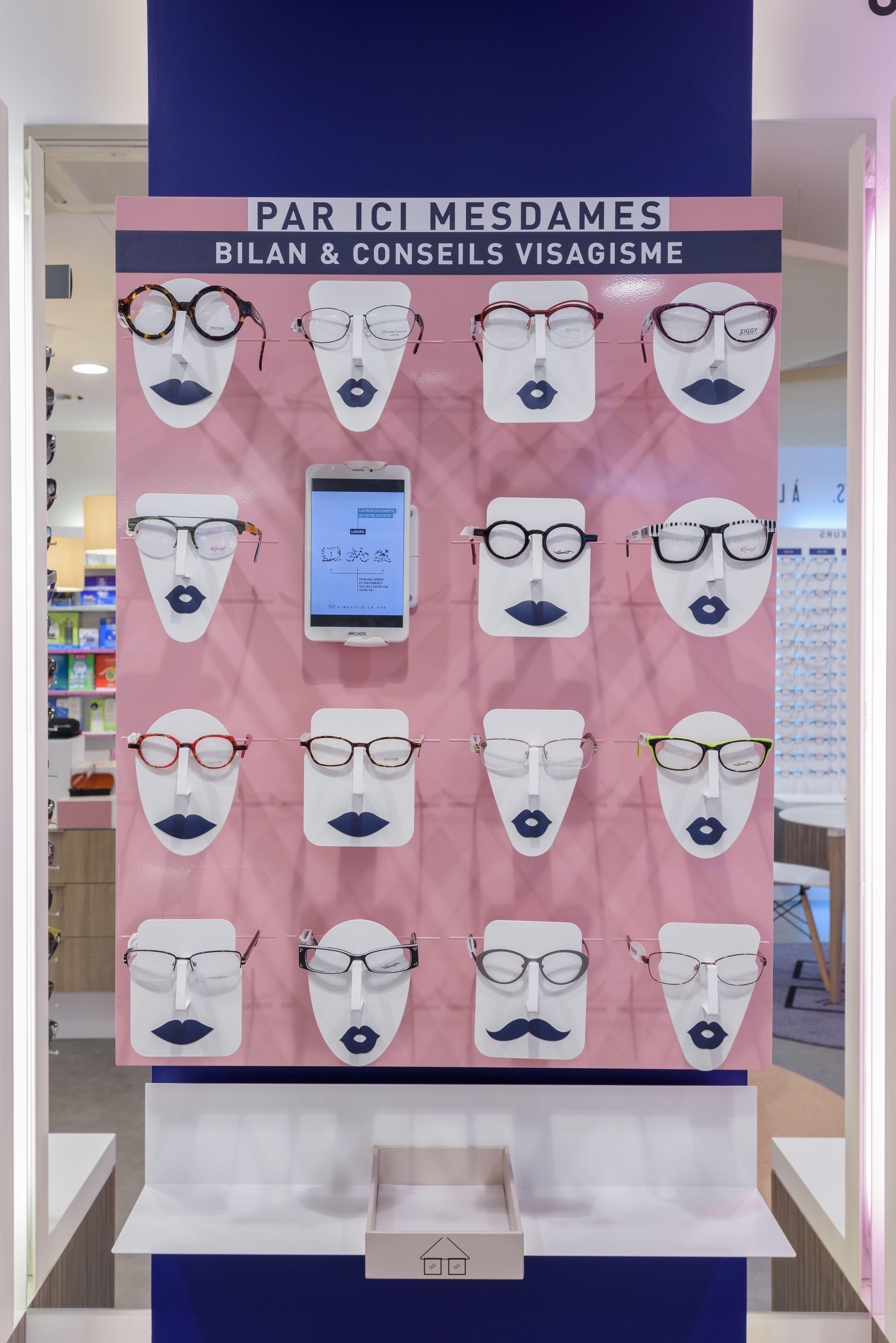 151ac51b841 Notre sélection de montures pour femmes. Lunettestore vous simplifie la vue  !  design  conceptstore  opticien  vitrine  lunettes  lunetier  visagisme
