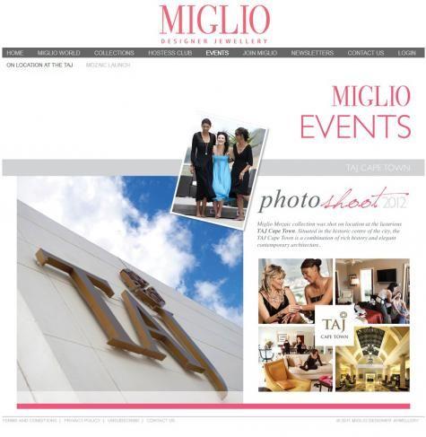 Martin Van Niekerk Photography Miglio Designer Jewellery Taj Hotel, Cape Town