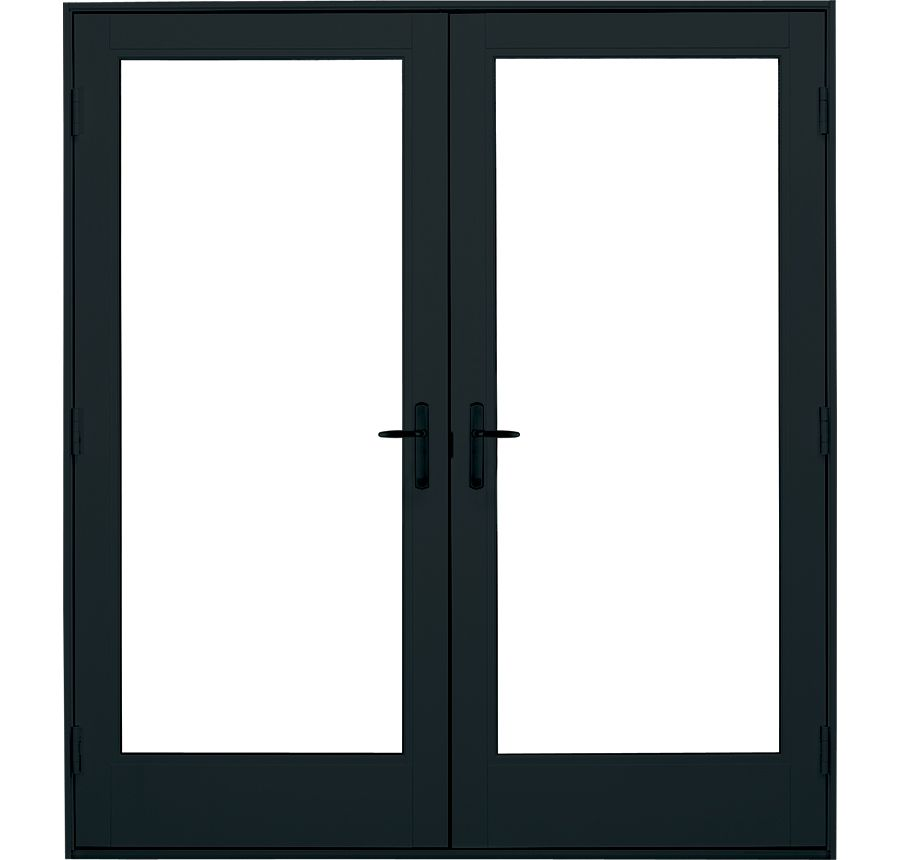Fiberglass In Swing French Patio Door Ultra Series Milgard