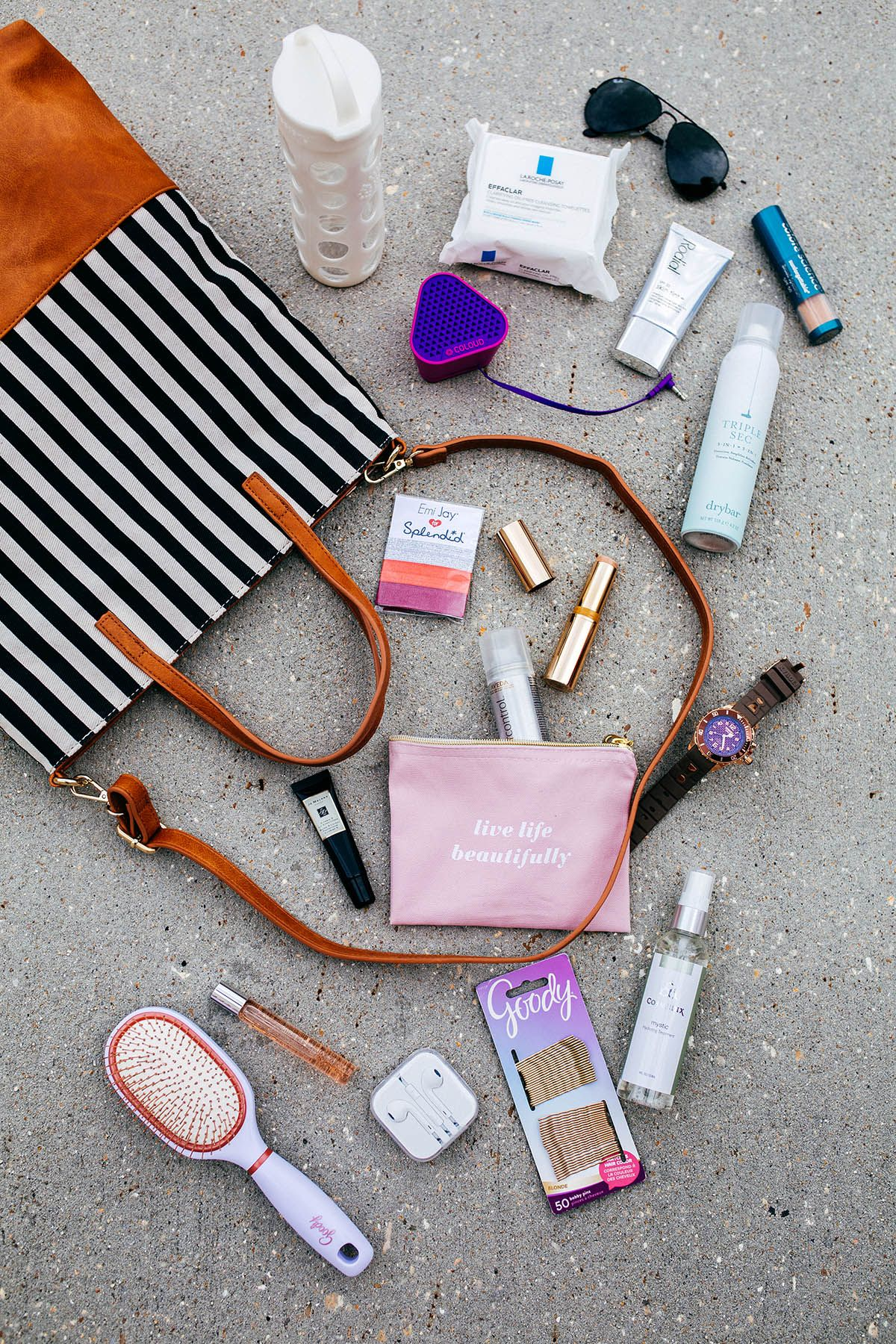 Gym Bag Beauty Products Beauty essentials, Gym bag