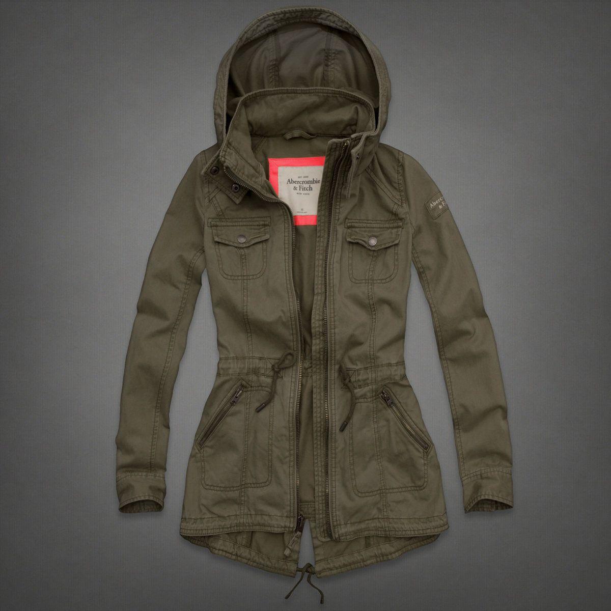 Womens Renee Parka Womens New Arrivals Abercrombie Ca Outerwear Women Jackets Women S Coats Jackets [ 1200 x 1200 Pixel ]