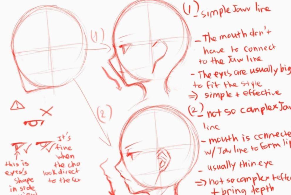 Anime Face Side View Drawing Tutorials Bokunoheroacademia Katsuki Bakugoucosplay Side View Drawing Anime Drawings Tutorials Drawing Heads