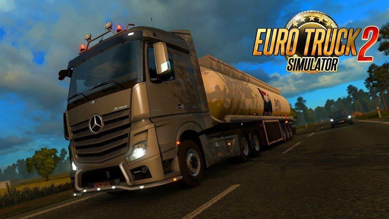 تحميل لعبة قيادة الشاحنات euro truck simulator 2