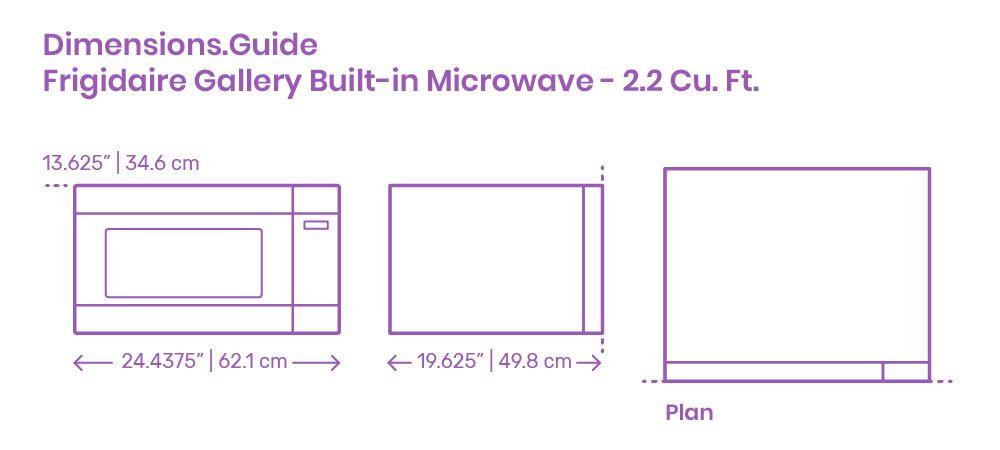 Frigidaire Gallery Built in Microwave