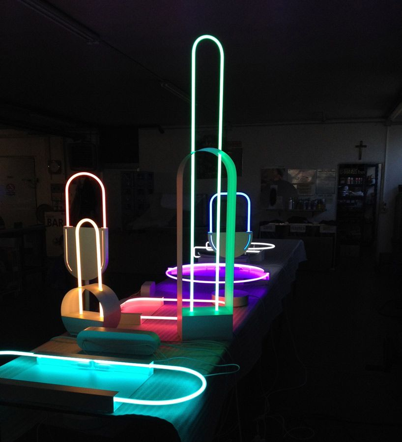Experimental neon mirage collection #modernhomes #homeligting #homedecor #smarthomes