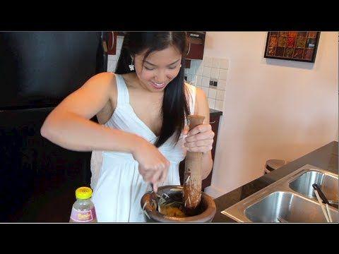 Papaya Salad Som Tum ส มตำ Hot Thai Kitchen This Is Thai