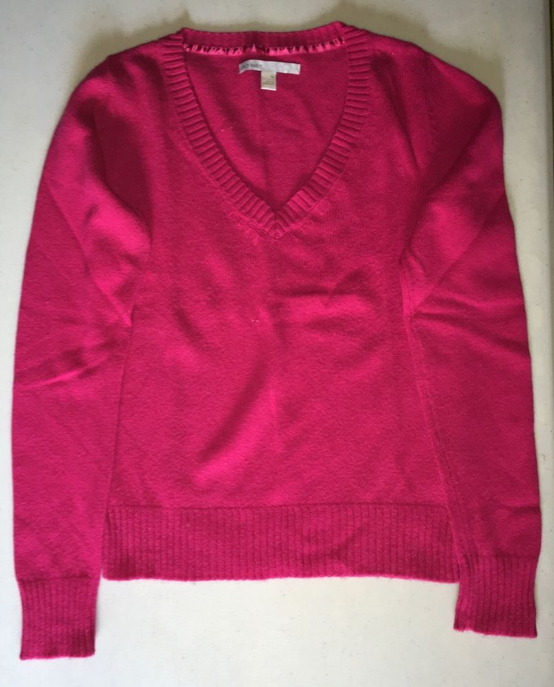 Old Navy Ladies V-Neck Sweater, Pink, Pullover, Size Medium ...