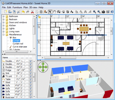 List Of Best Free Home Design Software For 3d Home Designing They