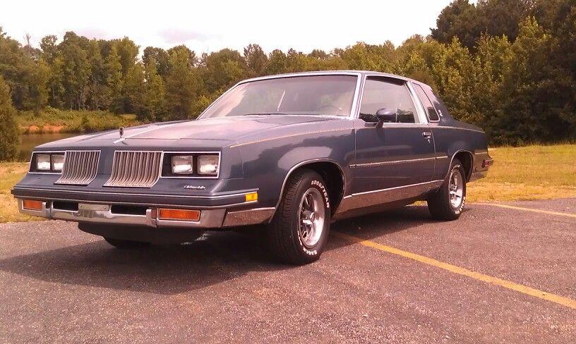 My Dad S All Original 1984 Cutlass Calais Oldsmobile Oldsmobile Oldsmobile 442 Muscle Cars