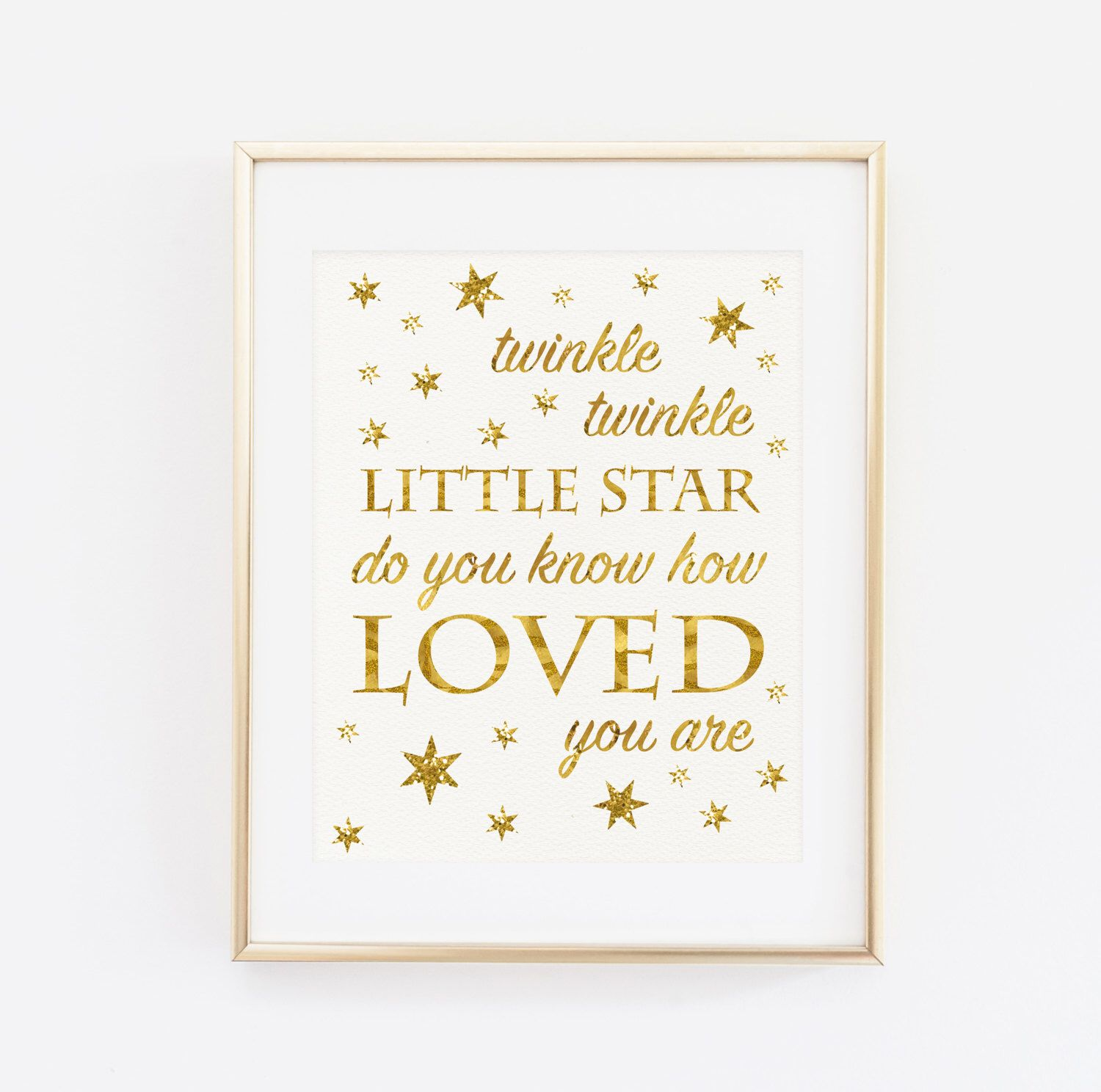 Twinkle Twinkle Little Star Do You Know How Loved You