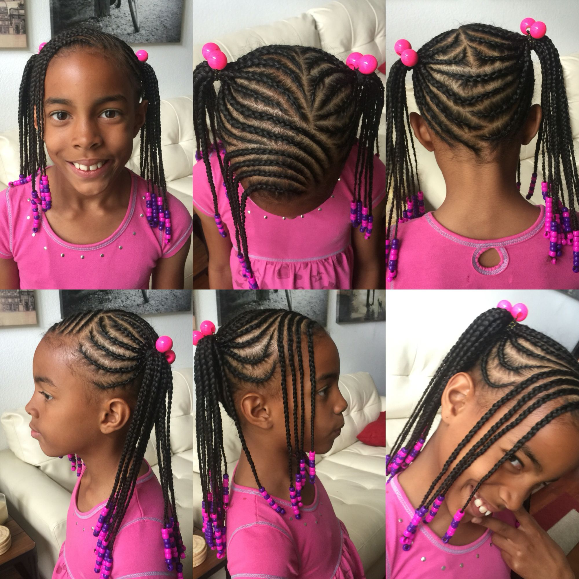 how to put beads in hair braids