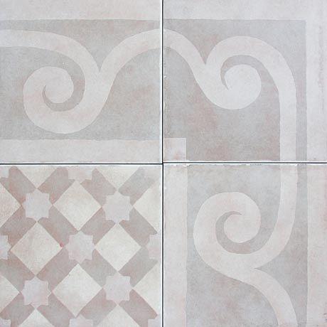 Reproduction Line Of Antique Cement Tiles Is Ideal For Demanding - Cement tile maintenance