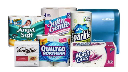 5 Georgia Pacific Have Many Innovative Products That Make Maggie S Busy Life A Little Easier In Different S Consumer Products Quilted Northern Georgia Pacific