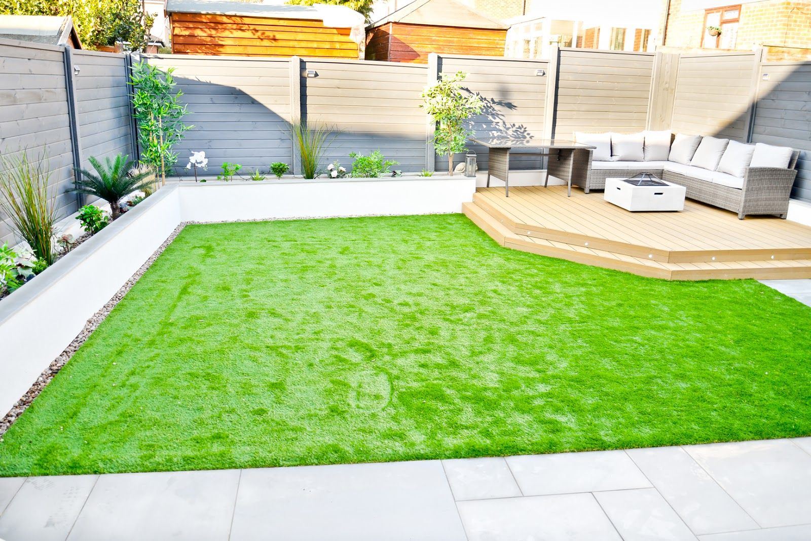 Our Back Garden Makeover - Before & After | Modern garden ... on Modern Back Garden Ideas id=57299