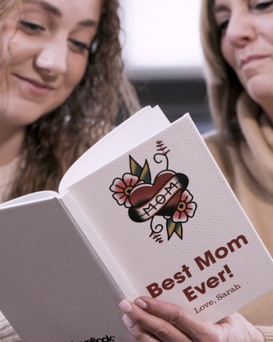 It's so simple. This Mother's Day, tell mom why you love her in her own special book. LoveBook helps you create this special, one-of-a-kind gift that will have her crying tears of happiness. Fun to create, even more fun to give.