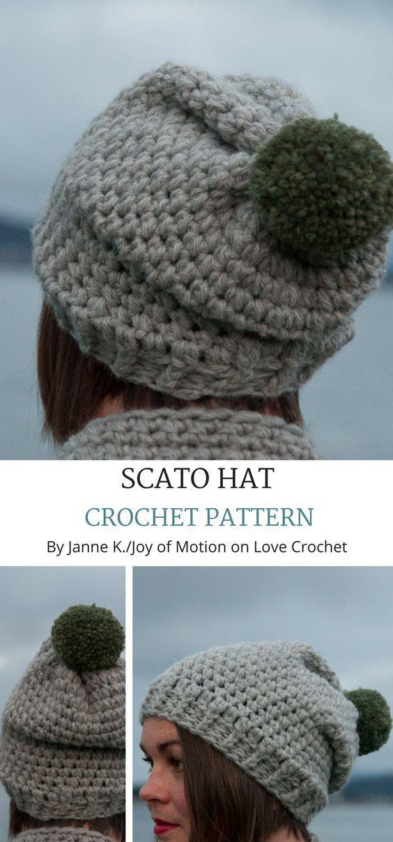 Scato Hat Crochet Pinterest Acessrios