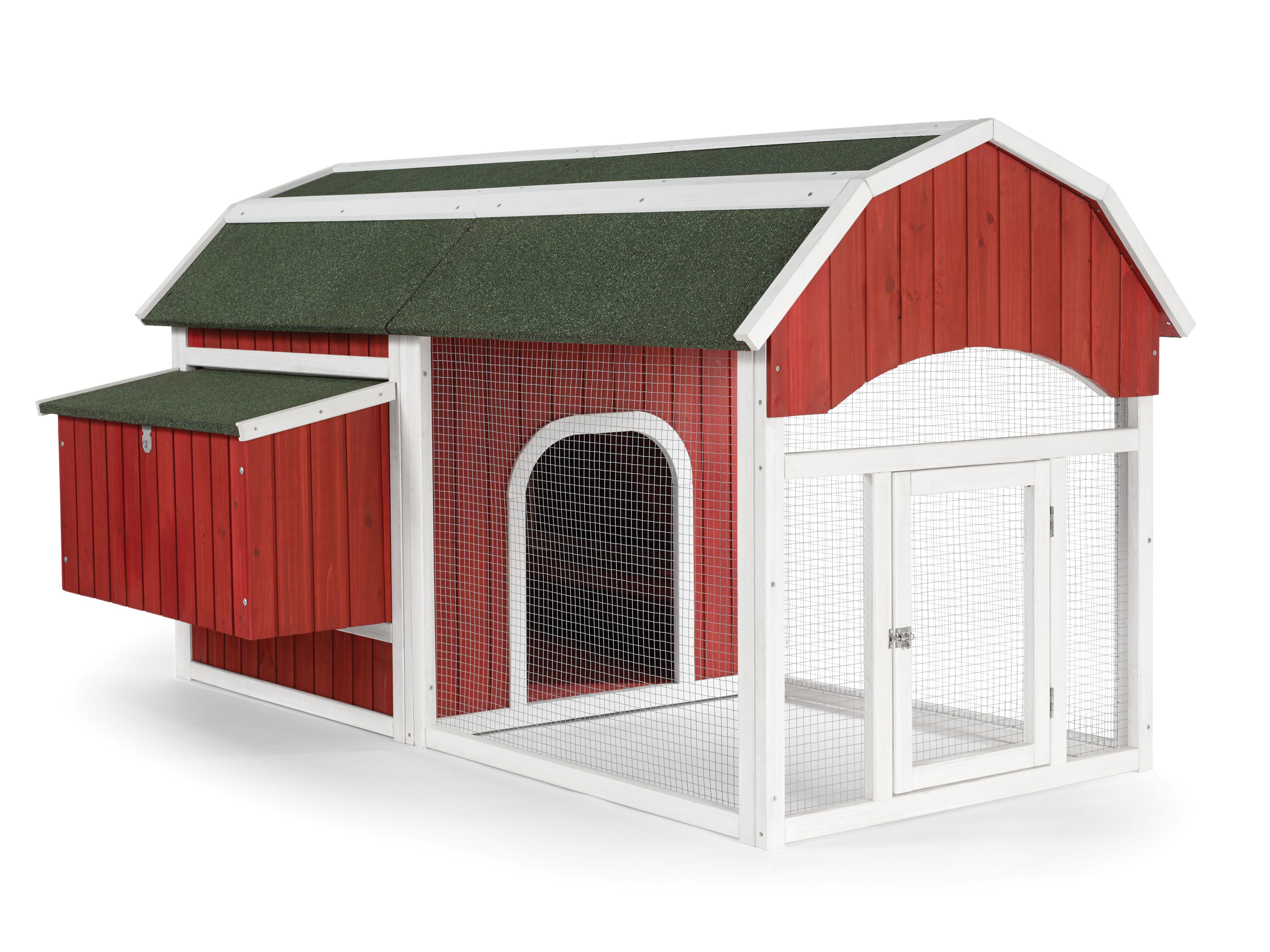 prevue pet products red barn chicken coop 465 new for 2014