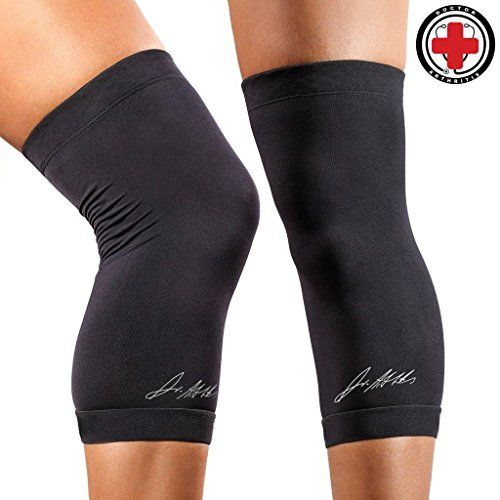 36483b4e6e Doctor Developed Copper Infused Compression Knee Brace Knee Support Sleeve  GUARANTEED relief for Arthritis Tendonitis Bursitis Injury recovery Running  ...