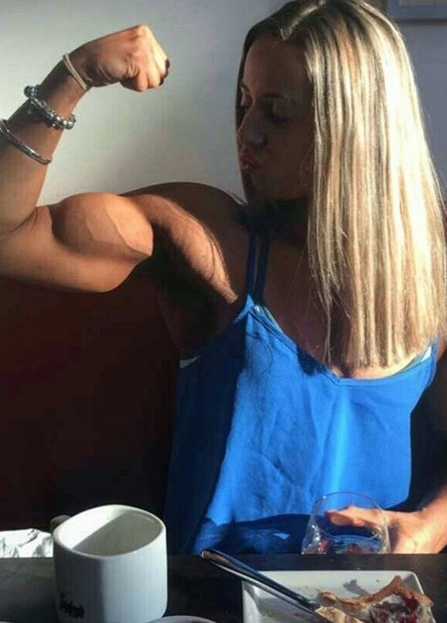 zoey wright fitness muscle motivation girl flex zoey wright fitness muscle motivation