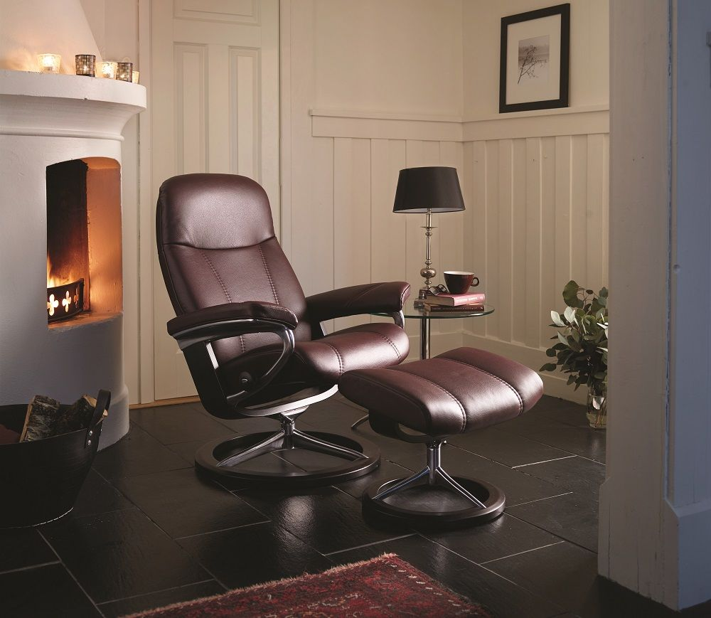 Stressless Sessel Norwegen The Ekornes Stressless Consul Is A Classic Recliner Made To