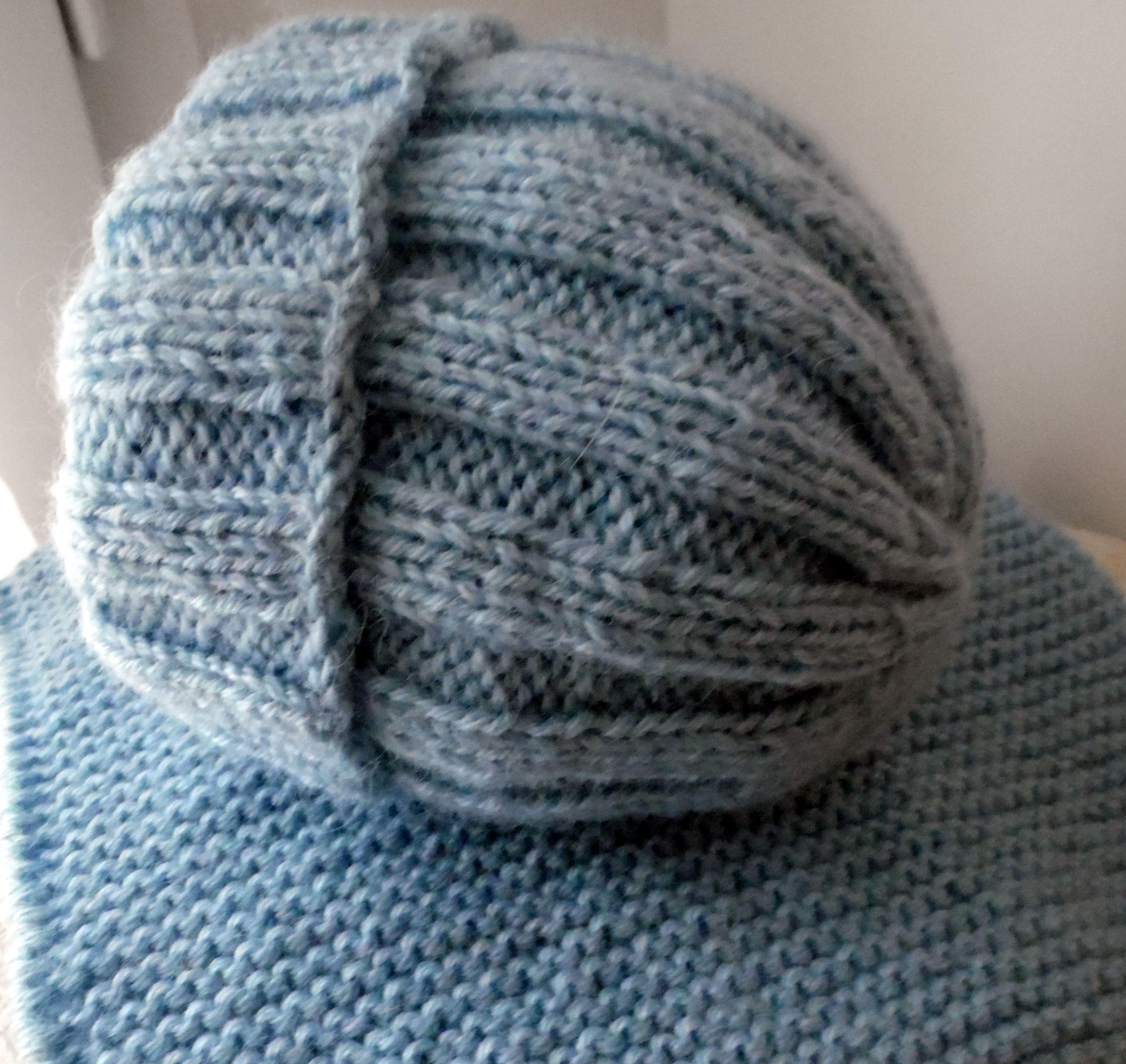 tricoter un snood 8 ans