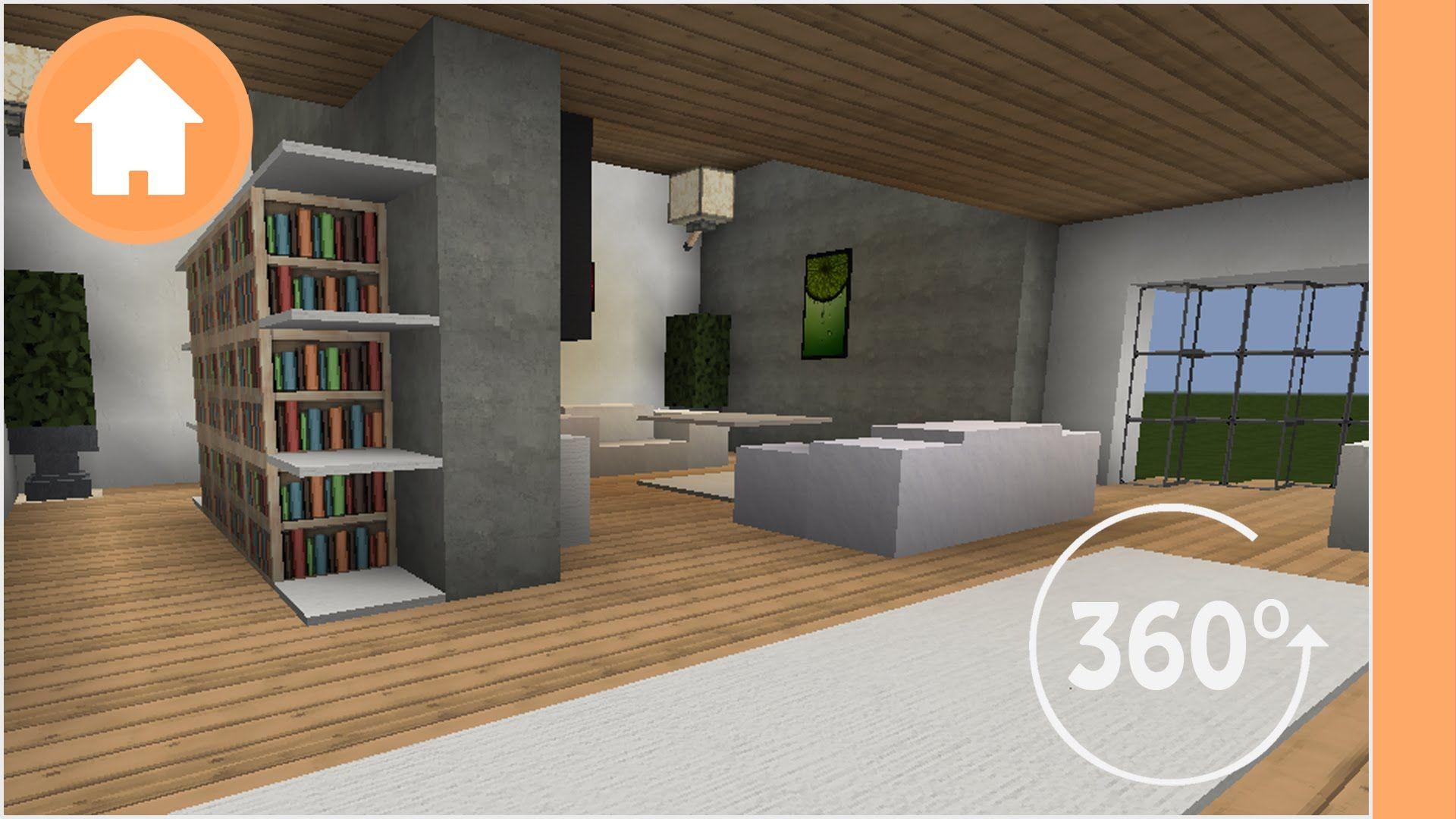 Minecraft Living Room Designs 360 Degree Minecraft Fo