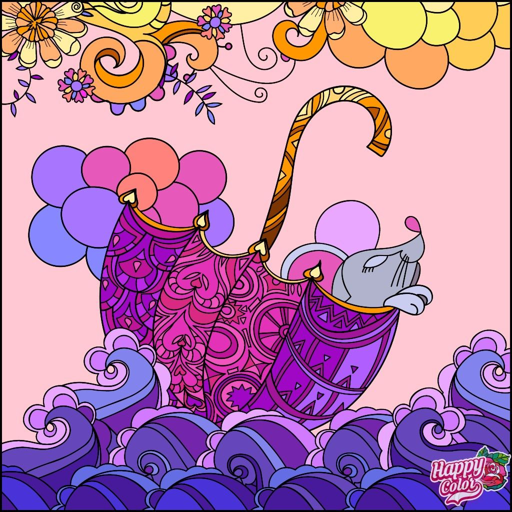 Pin By Wiwin Prayitno On Virtual Coloring Book Coloring Book App Colorful Art Happy Colors