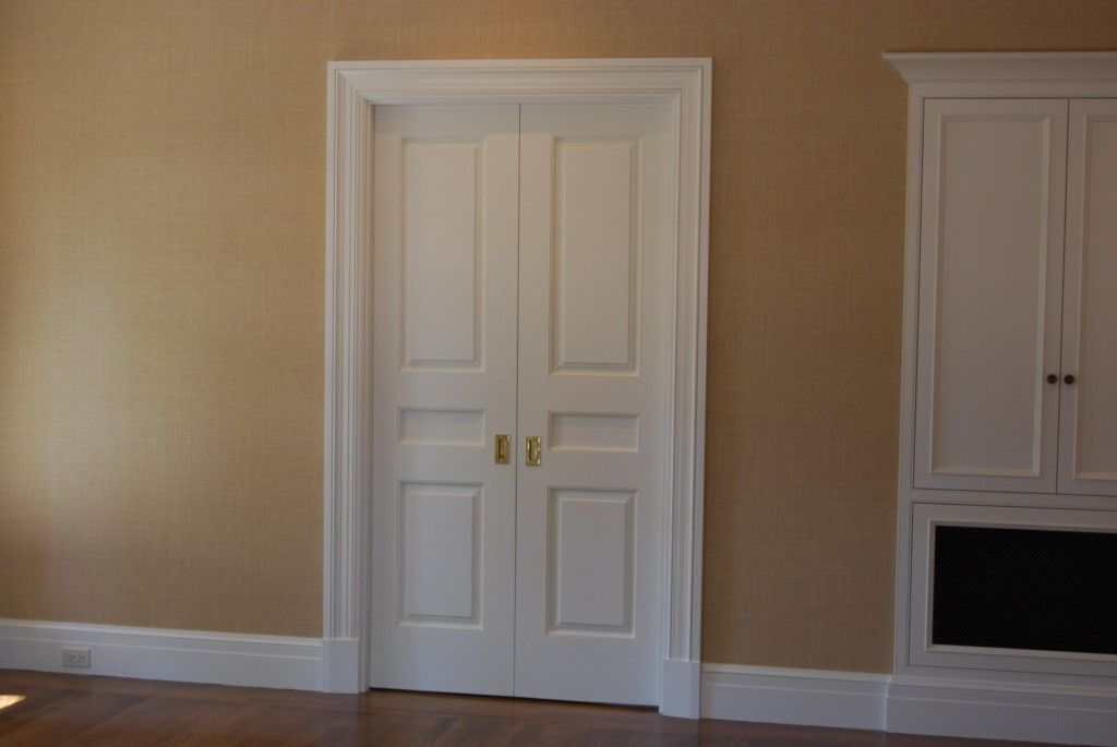 Narrow French Doors Interior Photo Door Design