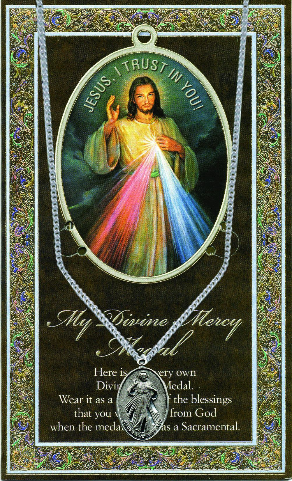 Divine Mercy Picture Folder by Hirten   Catholic Shopping .com