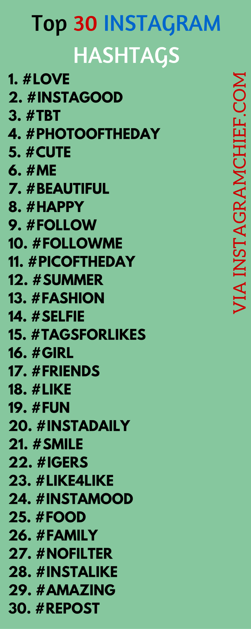 hashtags for likes selfie