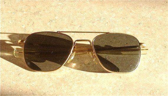 759a43ea1b5 Original Vietnam American Optical Sunglasses 1 10 12K GF 5 1 2 ...