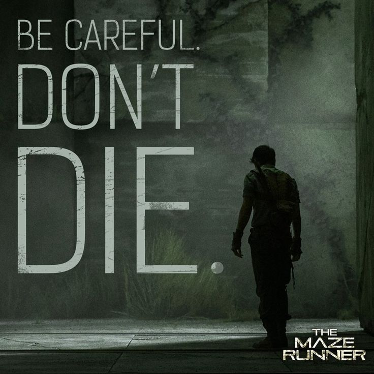 The Maze Runner - a quote from Alby **I can't decide about this book. Description from pinterest.com. I searched for this on bing.com/images