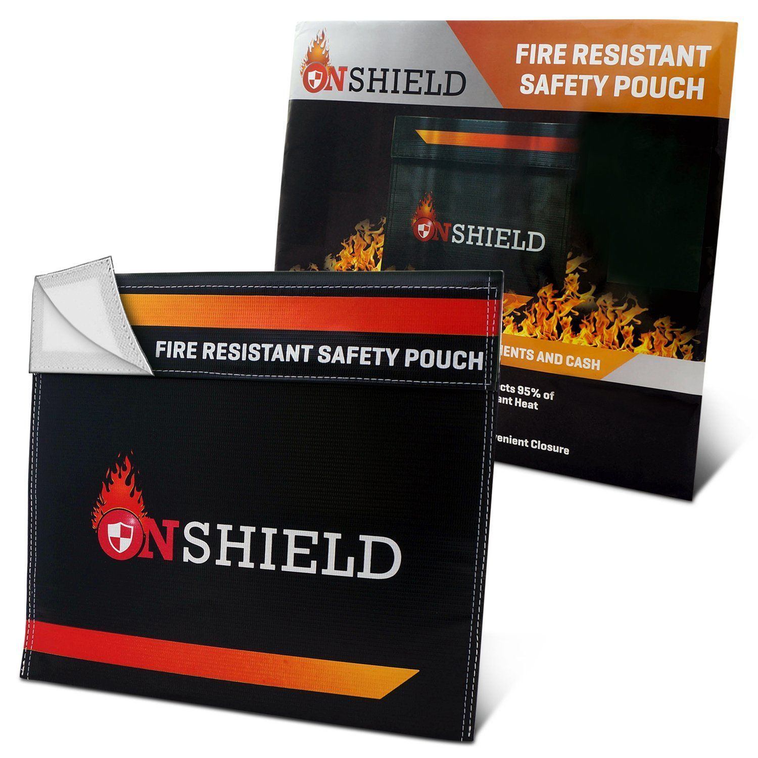 Fire Resistant Document Bag by OnShield 12'' x 11''   Heavy Duty and Non-itchy Fireproof Document Bag   Fireproof Bag for Cash, Birth Certificate, Passport, Important Documents *** Want additional info? Click on the image. (This is an affiliate link) #safes #importantdocuments Fire Resistant Document Bag by OnShield 12'' x 11''   Heavy Duty and Non-itchy Fireproof Document Bag   Fireproof Bag for Cash, Birth Certificate, Passport, Important Documents *** Want additional info? Click on the image. #importantdocuments