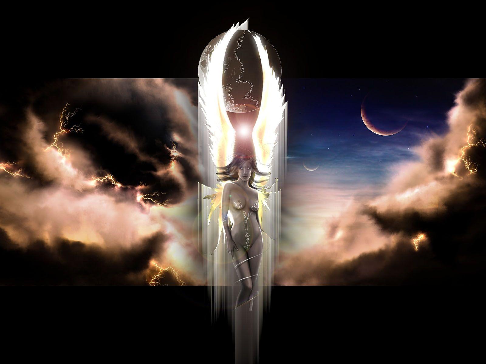 Dark And Light Angel
