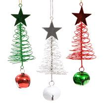 For Junior and Ramiro's office-hang from garland Bulk Christmas House Looped Wire Christmas Tree Ornaments, 2-ct. Packs at DollarTree.com