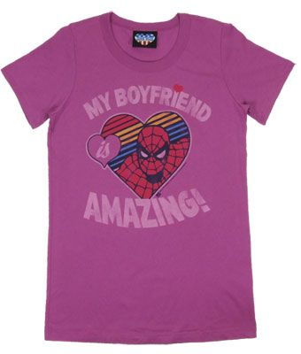 Spiderman T-Shirt,The Amazing Spiderman,Marvel Comics Ladies T-Shirt