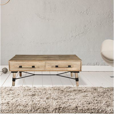 Breakwater Bay Fabela Coffee Table With Storage Coffee