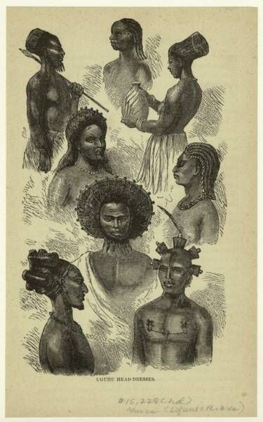 Natives Of Ugogo East Central Africa Gogo African Hairstyles Black Hair History African American Hairstyles