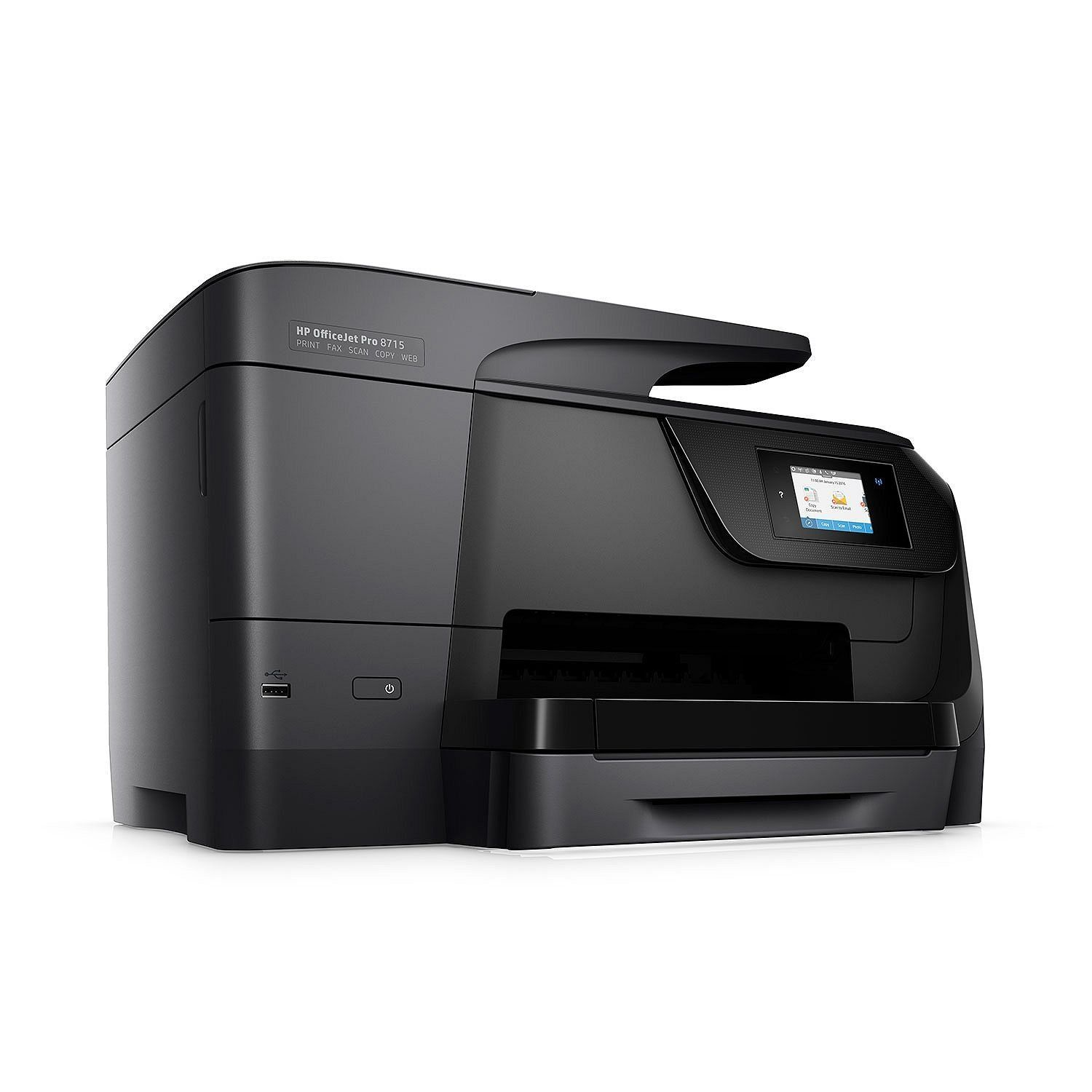 Hp Officejet Pro 8715 Allinone Printer Click On The Image For