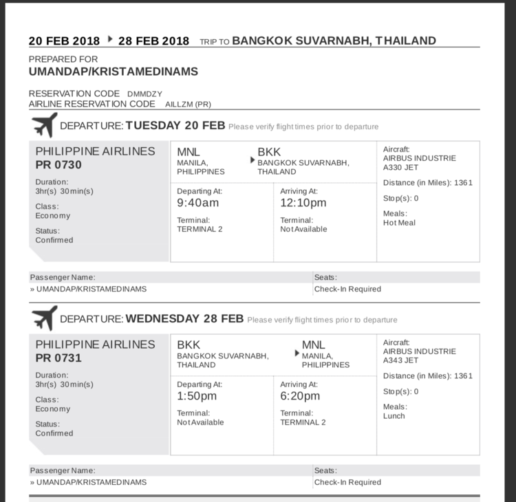 Rent a Flight Ticket for Visa Applications Confirmed