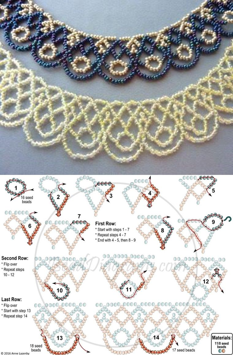 Netting schema seed bead tutorials older seed bead tutorials netting schema seed bead tutorials baditri Image collections