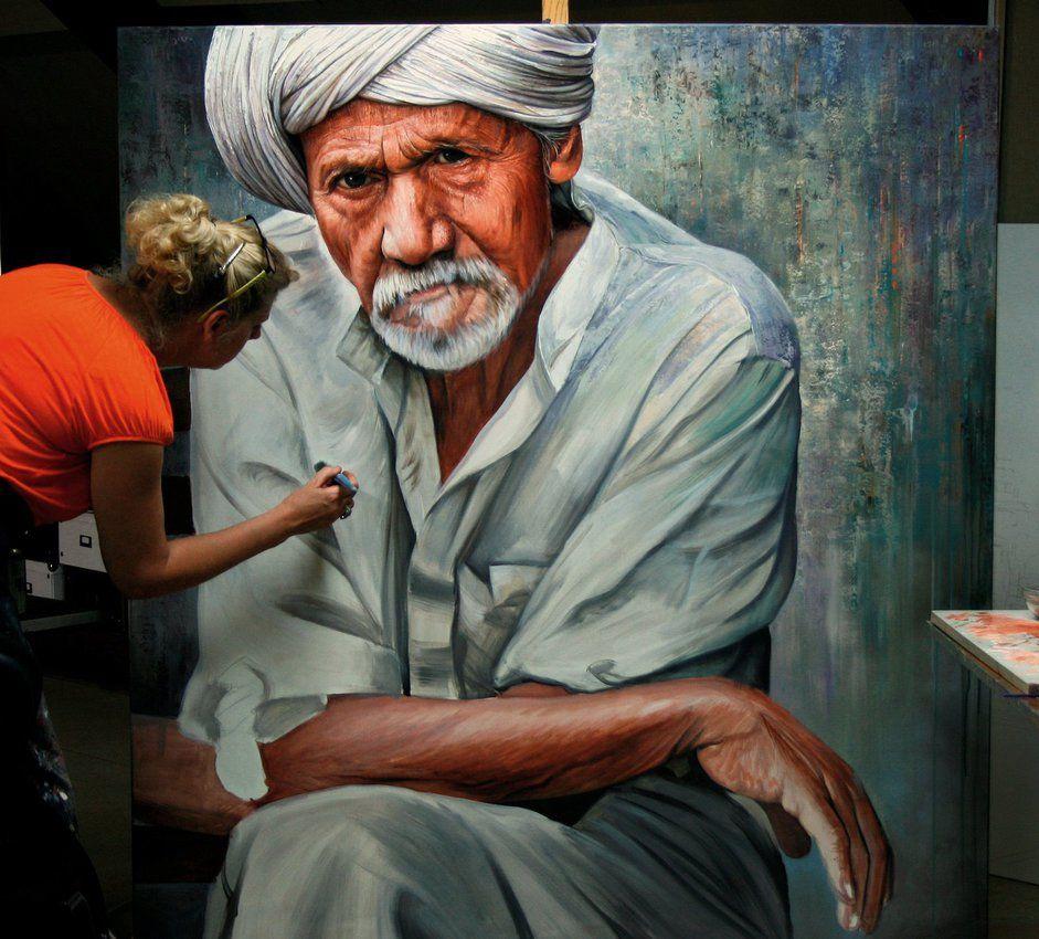 Old man W.I.P. by Raipun on deviantART